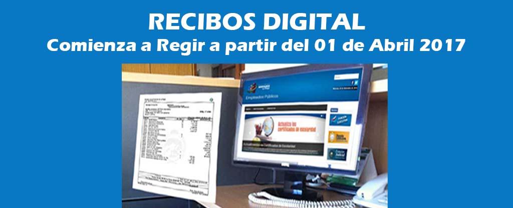 Recibos Digital 2017
